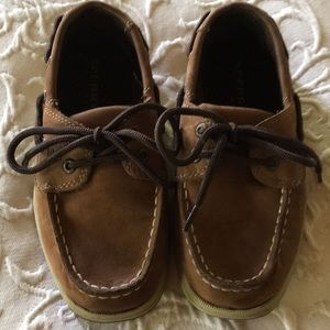 Sperry Boys Top Sliders Size 13M  Tan